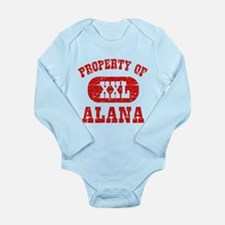 Property Of Alana Long Sleeve Infant Bodysuit