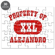 Property Of Alejandro Puzzle