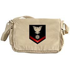 Navy PO3 Quartermaster Messenger Bag