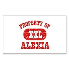 Property Of Alexia Decal