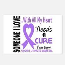 Needs a Cure 3 H Lymphoma Postcards (Package of 8)
