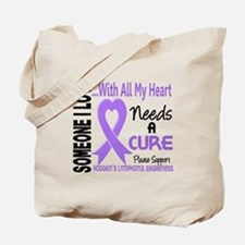 Needs a Cure 3 H Lymphoma Tote Bag