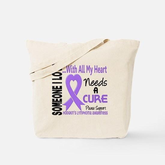 Needs a Cure 3 H Lymphoma Tote Bag