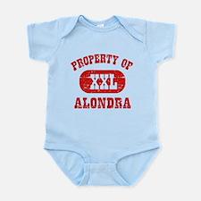 Property Of Alondra Infant Bodysuit