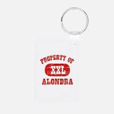 Property Of Alondra Keychains