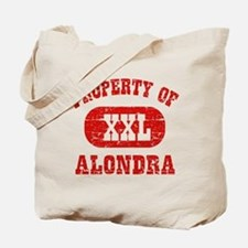 Property Of Alondra Tote Bag