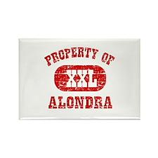 Property Of Alondra Rectangle Magnet