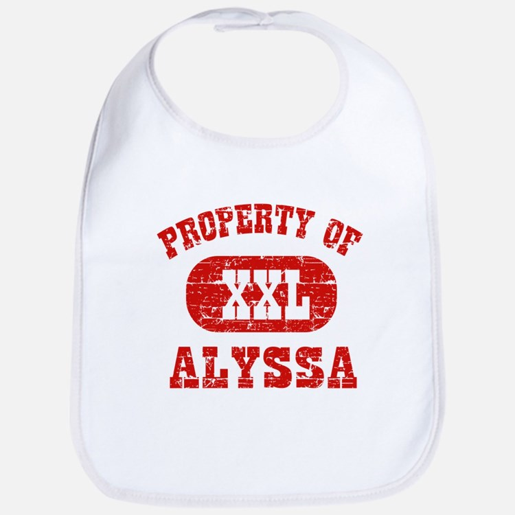 Property Of Alyssa Bib