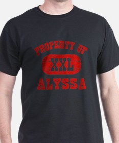 Property Of Alyssa T-Shirt