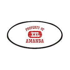 Property Of Amanda Patches