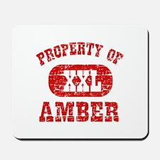 Property Of Amber Mousepad