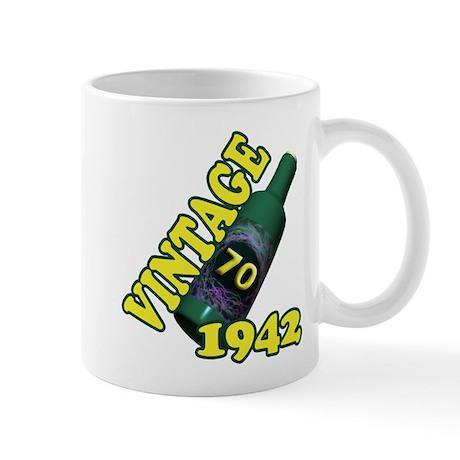 70th Birthday, 1942 Mug