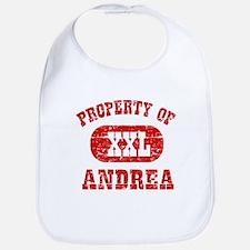 Property Of Andrea Bib