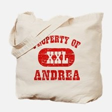 Property Of Andrea Tote Bag