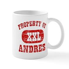 Property Of Andres Mug