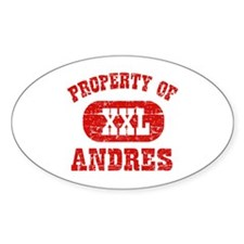 Property Of Andres Decal