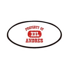 Property Of Andres Patches