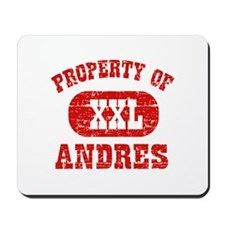 Property Of Andres Mousepad