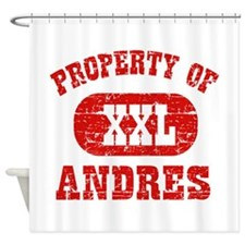 Property Of Andres Shower Curtain
