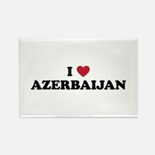 I Love Azerbaijan Rectangle Magnet