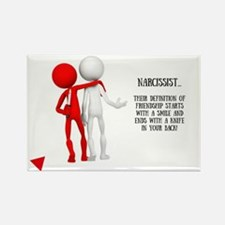 Cute Funny non drinking Rectangle Magnet