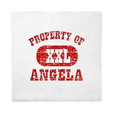 Property Of Angela Queen Duvet
