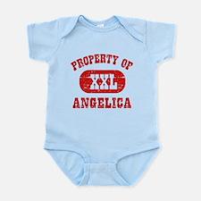 Property Of Angelica Infant Bodysuit