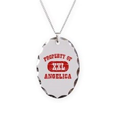 Property Of Angelica Necklace Oval Charm