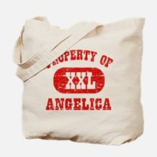 Property Of Angelica Tote Bag