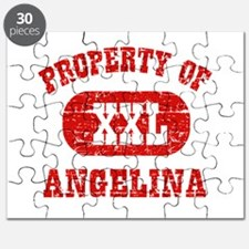 Property Of Angelina Puzzle