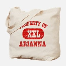 Property Of Arianna Tote Bag