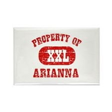 Property Of Arianna Rectangle Magnet