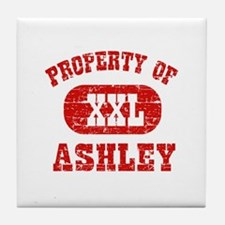 Property Of Ashley Tile Coaster
