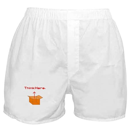 Think Here Boxer Shorts