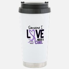 Needs a Cure 2 H Lymphoma Travel Mug