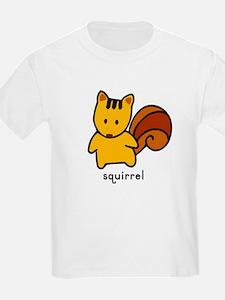 Squirrel Flashcard Tee
