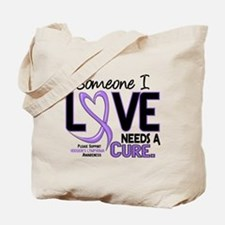 Needs a Cure 2 H Lymphoma Tote Bag
