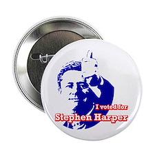 """Stephen Harper 2.25"""" Button (10 pack)"""