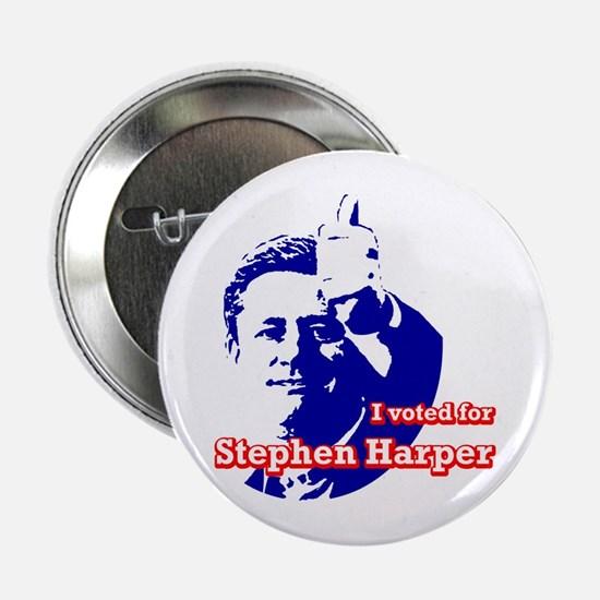 Stephen Harper Button