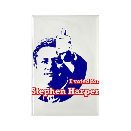 Stephen Harper Rectangle Magnet (10 pack)
