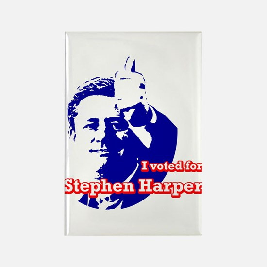 Stephen Harper Rectangle Magnet