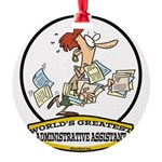 WORLDS GREATEST ADMINISTRATIVE ASSISTANT CARTOON.