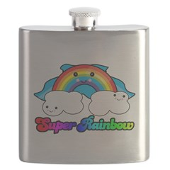 super rainbow.png Flask