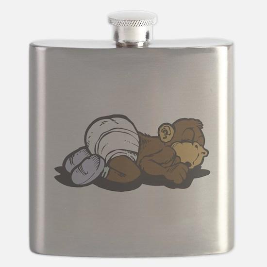 sleeping baby monkey.png Flask
