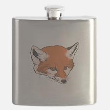 fox head copy.jpg Flask