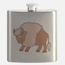 smiling buffalo.png Flask