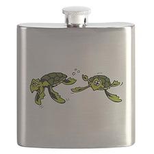 swimming sea turtles.png Flask