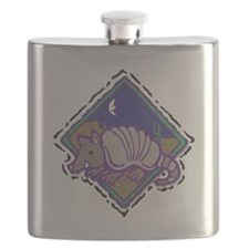 armadillo western scene.png Flask