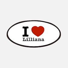 I Love Lilliana Patches