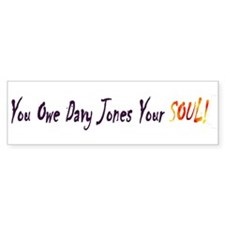 DAvy Jones Bumper Bumper Sticker